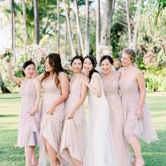 Alice and Brandon's Glam Oahu Wedding