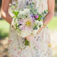 Holly and Andy's Garden Wedding at Spanish Oaks Ranch