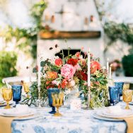 Colorful Spanish Romance Inspiration Shoot