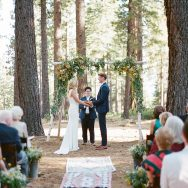 Kelly and Eddie's Tahoe wedding at Bear Paw Lodge