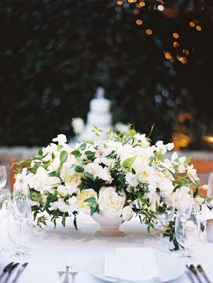 san-ysidro-ranch-white-black-wedding-inspiration-hydrangea21