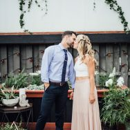 Leah and Matt's Surprise wedding at Tremont Taphouse