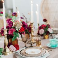 Bohemian Chic at Vibiana Inspiration Shoot