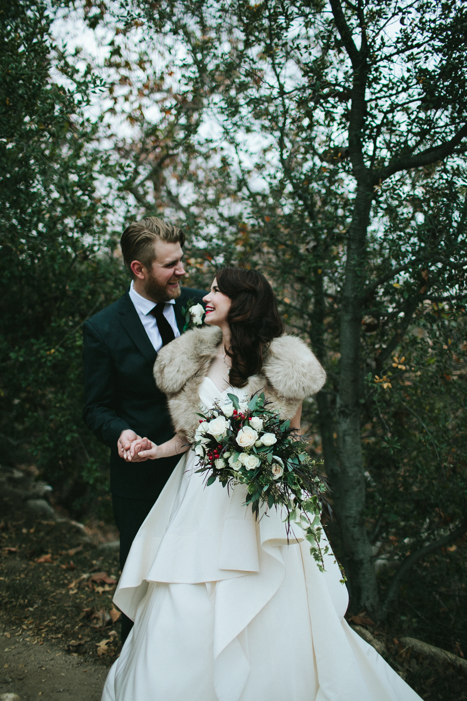fig-house-holiday-winter-white-rose-vintage-fur-los-angeles-wedding-inspiration38