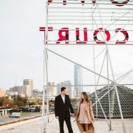 Veronica and Ryan's Sparkly Engagement Session