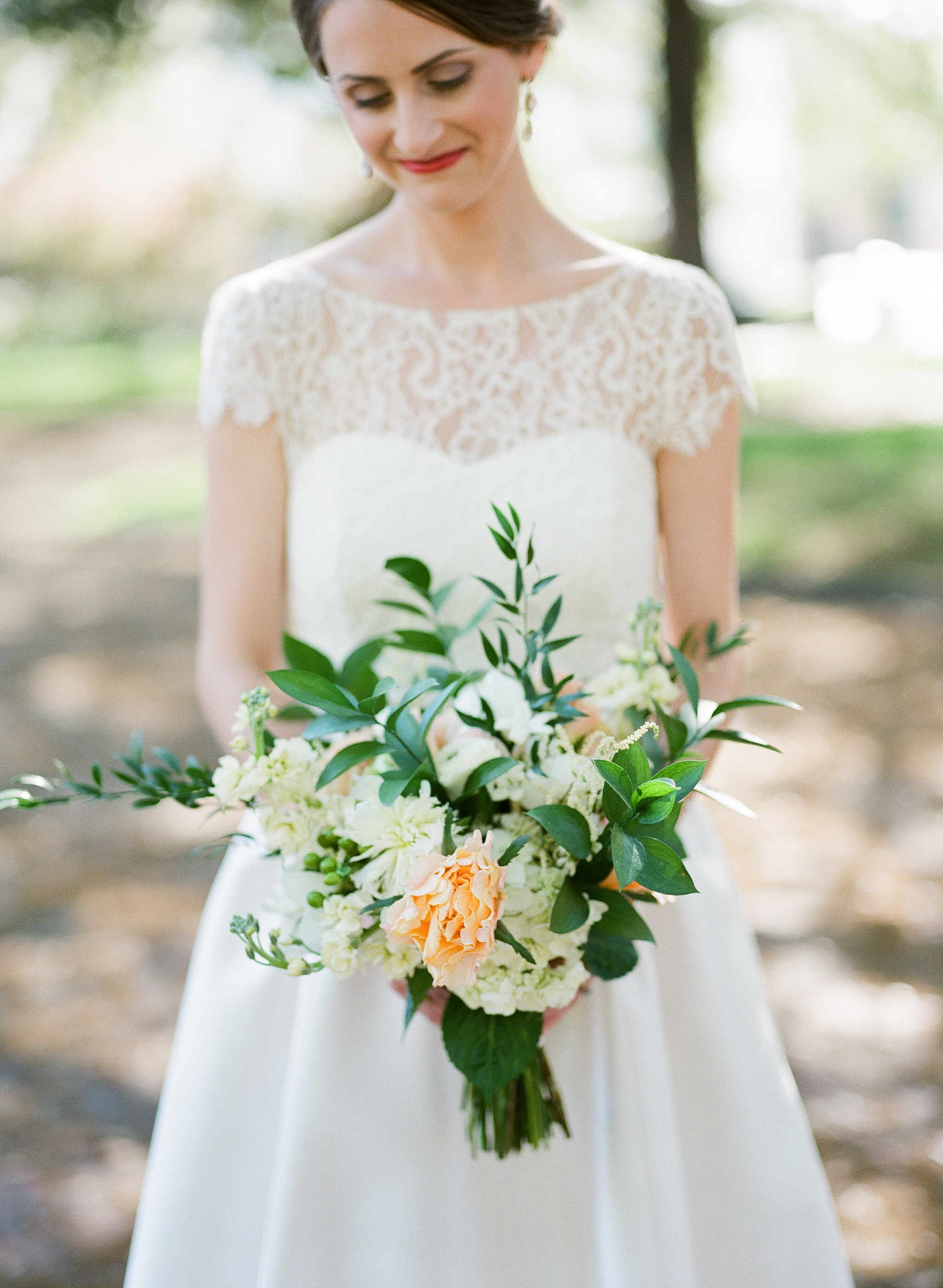 charleston-classic-southern-church-floral-green-wedding-inspiration21