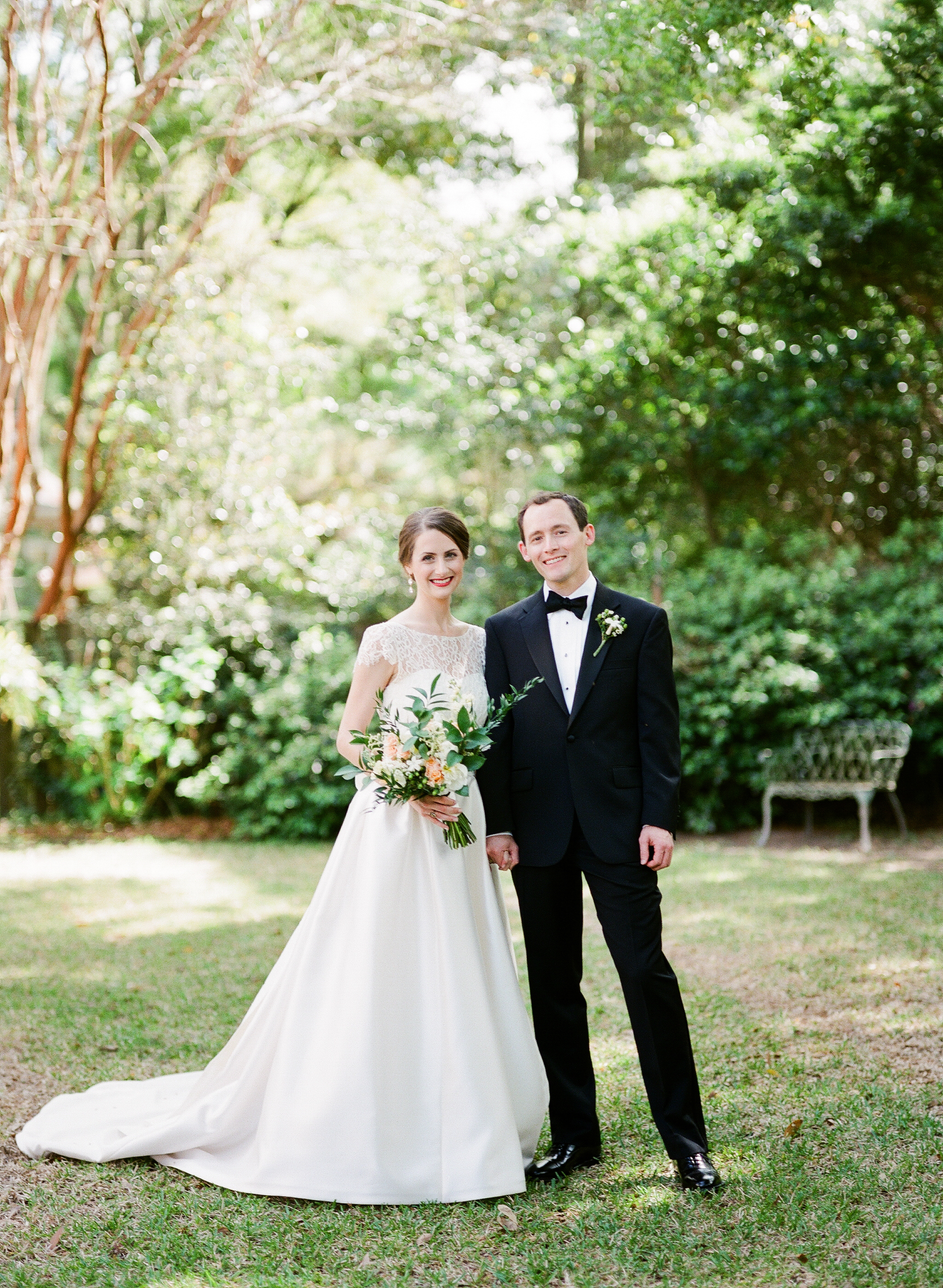 charleston-classic-southern-church-floral-green-wedding-inspiration25