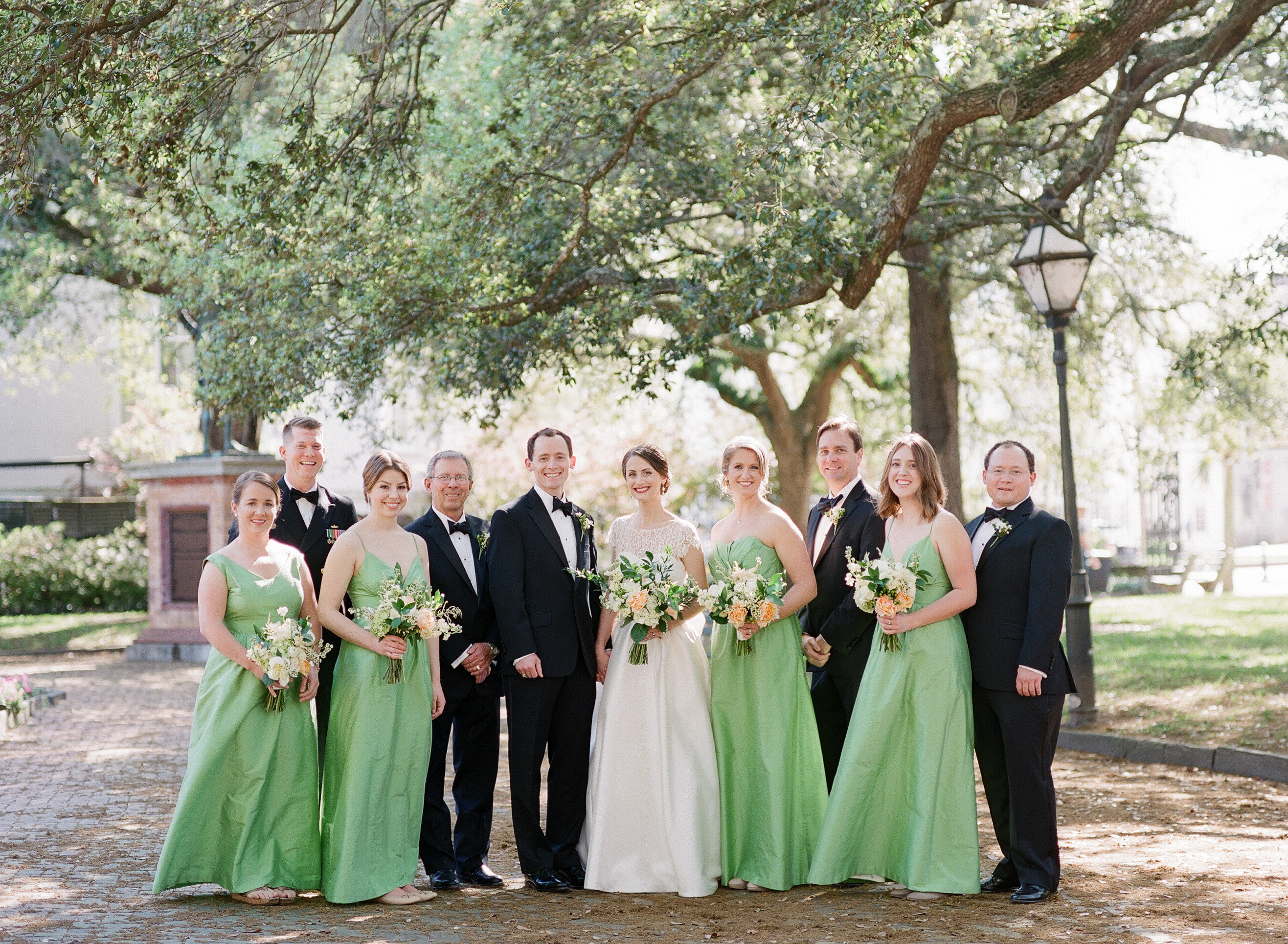charleston-classic-southern-church-floral-green-wedding-inspiration31