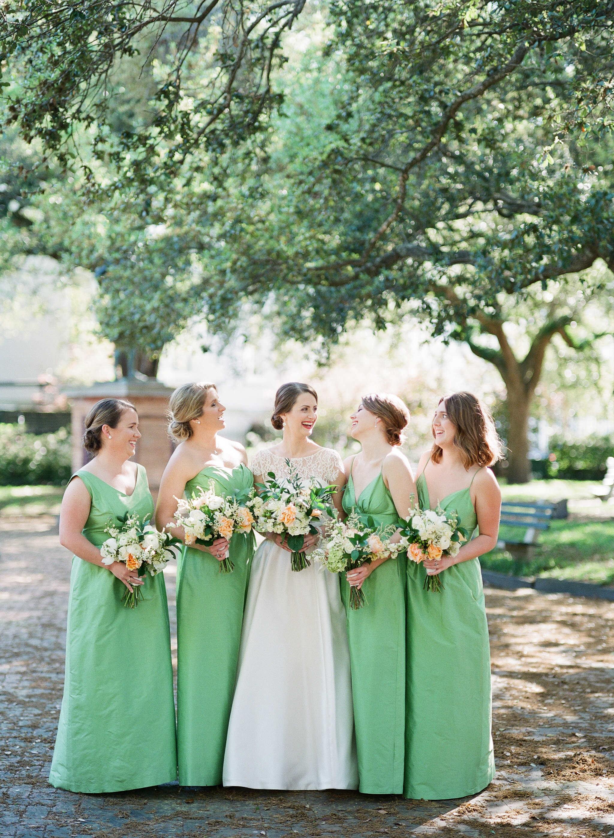charleston-classic-southern-church-floral-green-wedding-inspiration41