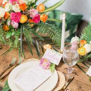 Palm Beach Tropical Inspiration Shoot