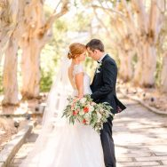Joanna and Dave's traditional wedding in San Rafael