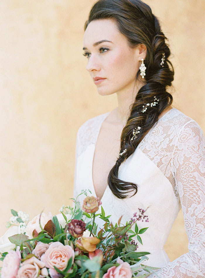 romantic-sonoma-sunset-inspiration-ashy-coral-purple-wedding-california22
