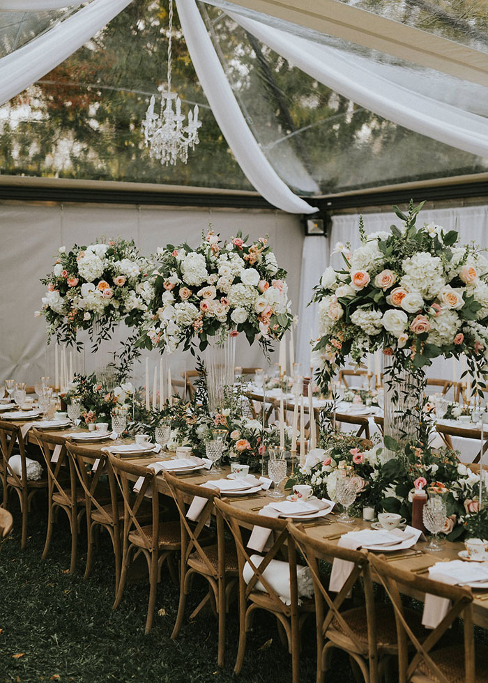 What Were Some Touches Added To Make The Wedding Personal?