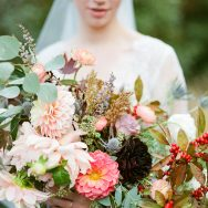 Fall romance ELopement shoot
