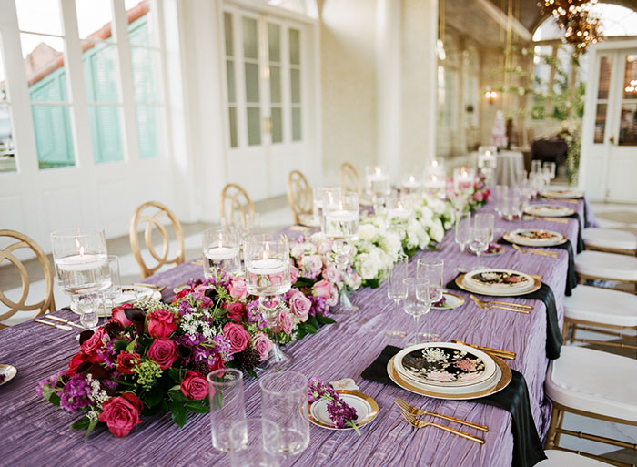 glam-new-orleans-lilac-magenta-pink-floral-dramatic-wedding-inspiration24