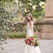 Vibrant Meridian Hill Bridal Portraits