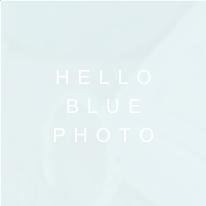 Hello Blue Photo