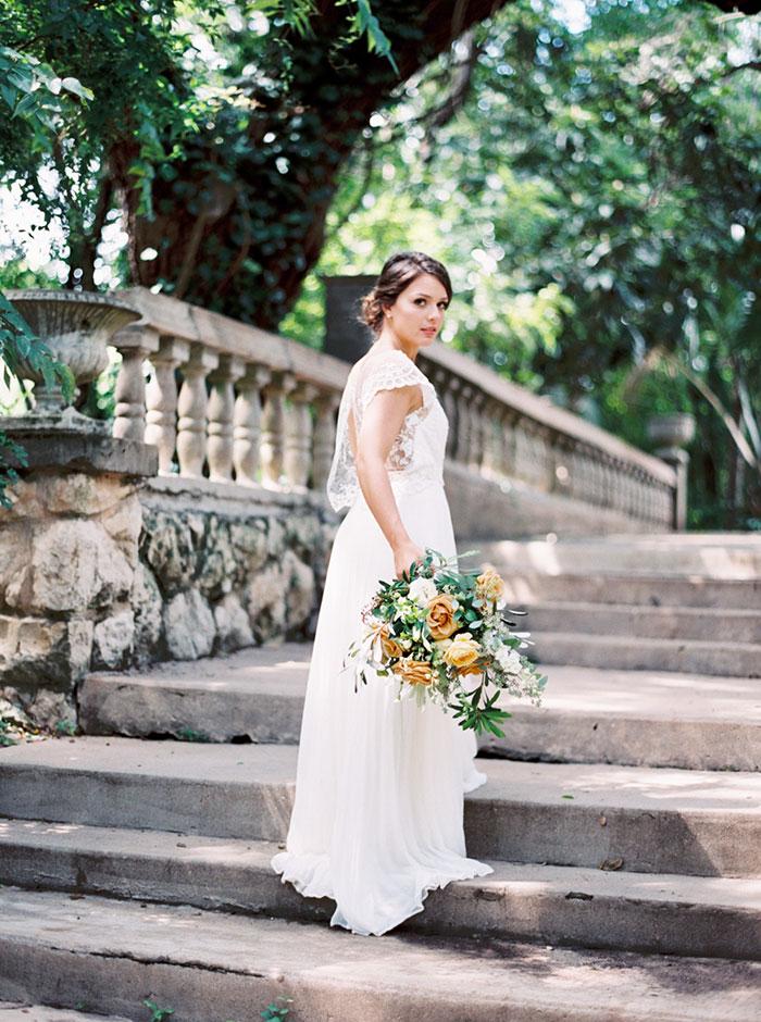 Historic Garden Romance Best Wedding Blog