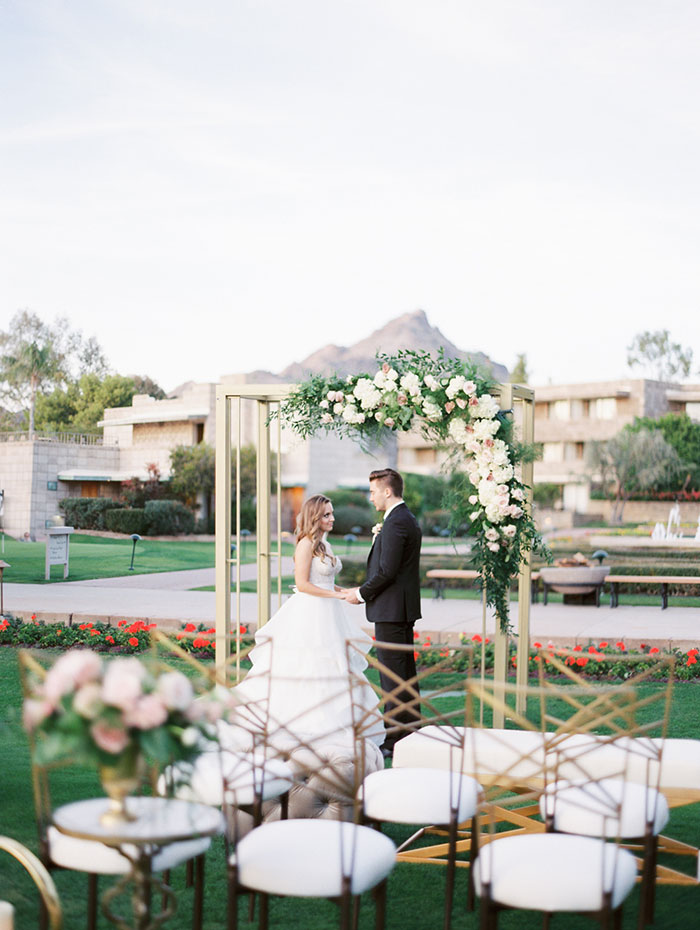 Modern Romance At The Arizona Biltmore Best Wedding Blog