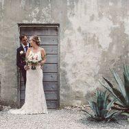 Caitlin and Dave's wedding at Villa Montara
