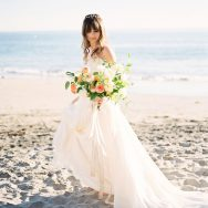 Dreamy Beach Elopement Shoot