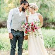 Relaxed and Romantic Forest Elopement Inspiration