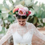 Luisa and Francesco's Frida Kahlo wedding in Italy