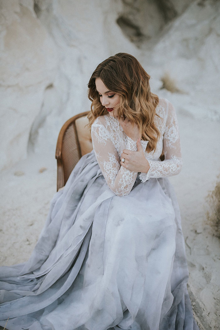 Moody And Marbled In The Desert Best Wedding Blog