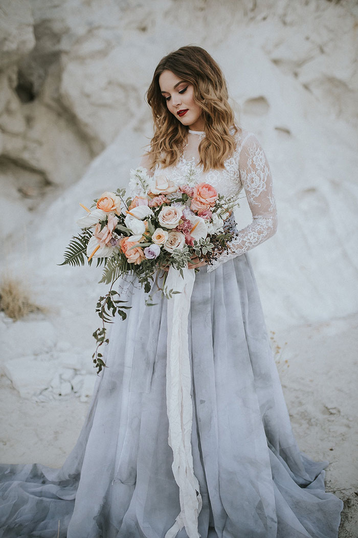 Moody and Marbled in the desert | Best Wedding Blog