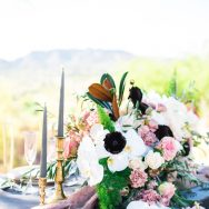 Edgy elegance in the desert inspiration shoot