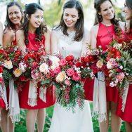 Amanda and Caleb's Fall wedding in Lake Geneva