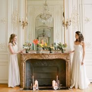 Feminine Paris Elopement Inspiration