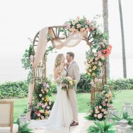 Colorful Oceanfront Inspiration Shoot