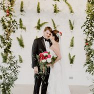 Leigh and Nick's Winter Wedding at Prospect House