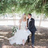 Melissa and Evan's Gorgeous Malibu Vineyard Wedding