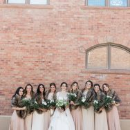 Alex and Parker's Snowy Telluride Wedding