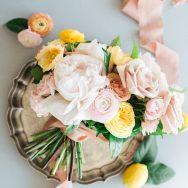 Citrus-hued Garden Rose inspiration