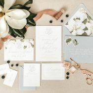 Romantic and Bold Magnolia Inspiration