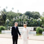 Emily and David's L.A. wedding