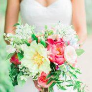 Jessa and Cody's wedding at the Denver Botanic Gardens