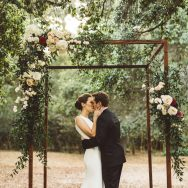 Kate and Tom's wedding at Descanso Gardens