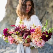 Vibrant Pacific Northwest Beach Inspiration shoot