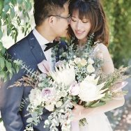 Saisai and Chang's wedding at Allied Arts Guild