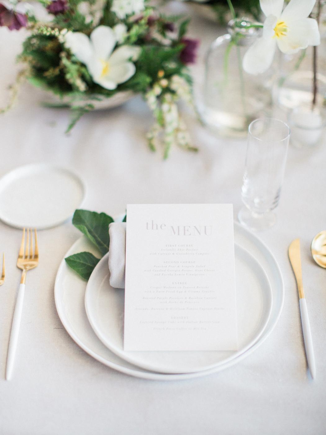 Modern Botanical Inspiration Shoot | Best Wedding Blog