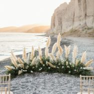 Katherine and Matthew's Santorini Wedding
