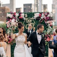 Jacqueline and Michael's Tribeca Rooftop wedding