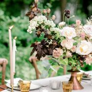 Rose Pink garden inspiration shoot