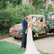 Leanne and Nick's Backyard wedding in Santa Barbara