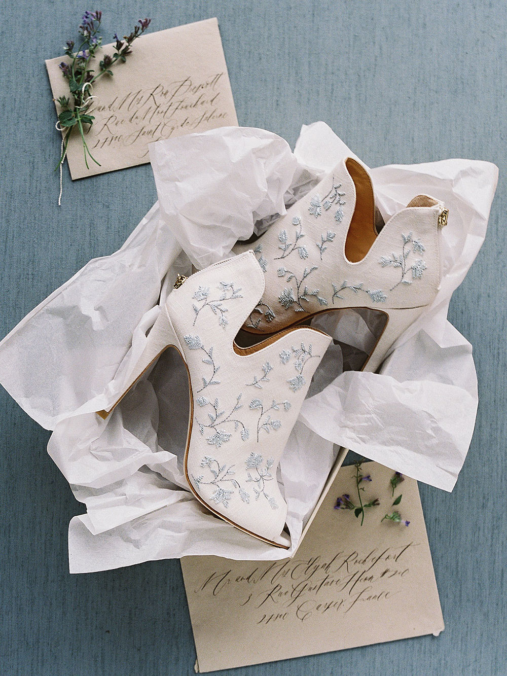 9a976b8f1f4de2 ... is inspired by the euphoric nature of the shoe collection itself. It is  intended to serve an edgy and fashion-forward interpretation on a bridal  look.