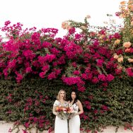 Laura and Mish's Palm Springs wedding